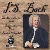 Bach: The 6 Suites for Cello Performed on Viola / Westphal
