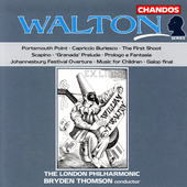 Walton: Portsmouth Point, etc / Thomson, London Philharmonic