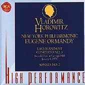 Rachmaninoff: Piano Concerto no 3, etc / Horowitz, Ormandy