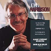 Harbison: Symphony no 3, Flute Concerto, etc / Miller