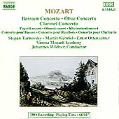 Mozart: Bassoon Concert, Oboe Concerto, Clarinet Concerto
