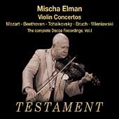 Mischa Elman - Complete Decca Recordings Vol 1