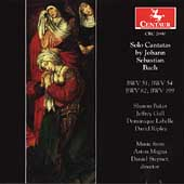 Bach: Solo Cantatas / Stepner, Aston Magna