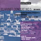 Harold Wright - Clarinet Concert no 5