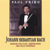 Bach: Sonatas for Flute, Harpsichord and Cello / Fried