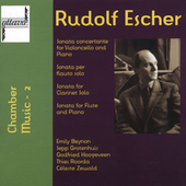 Rudolf Escher: Chamber Music Vol 2