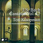 Bach: Complete Cantatas Vol 12 / Koopman, Amsterdam Baroque