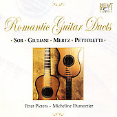Romantic Guitar Duets - Sor, etc / Pieters, Dumortier