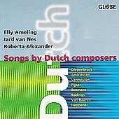 Songs by Dutch Composers - Diepenbrock, et al / Ameling, etc