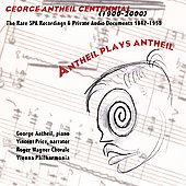 Antheil Plays Antheil / Adler, Haefner, Price, et al