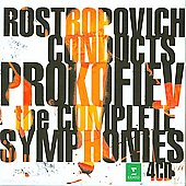Rostropovich conducts Prokofiev - Complete Symphonies / Rostropovich, French National Orchestra