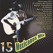 Various Artists: 15 Mexicanos Mix