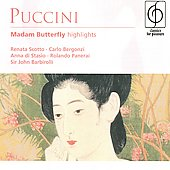 Puccini: Madama Butterfly Highlights / Barbirolli, Scotto