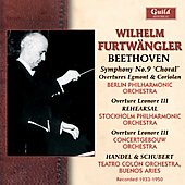 Beethoven: Symphony no 9, etc;  Schubert, Handel / Wilhelm Furtw&auml;ngler, et al