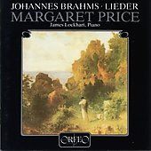 Brahms: Lieder / Margaret Price, James Lockhart