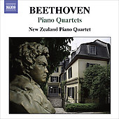 Beethoven: Piano Quartets WoO 36 / New Zealand Piano Quartet