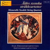 Memorable Swedish String Quartet Vol. 1:4