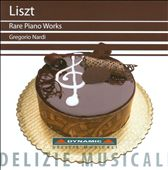 Liszt: Rare Piano Works / Nardi