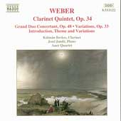 Weber: Clarinet Quintet, Grand Duo, etc / Berkes, Jandö