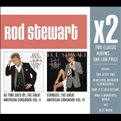 Rod Stewart: As Time Goes By/Stardust [The Great American Songbook, Vols. 2-3] [Box]