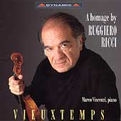 Vieuxtemps - A homage by Ruggiero Ricci / Marco Vincenzi