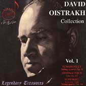 Legendary Treasures - David Oistrakh Collection Vol 1