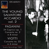 Paganini: 24 Capricci, Op. 1; Concerto No. 2; Viotti: Concerto No. 22 / The Young Salvatore Accardo, Vol. 2 (studio recordings 1962)
