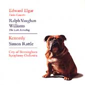 Elgar: Violin Concerto;  Vaughan Williams / Kennedy, Rattle