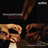 Transcriptions & Beyond: Stravinsky: Concerto for two pianos; Rite of Spring; Nancarrow: Sonatina; Arnulf Herrmann: Hausmusik / Piano Duo Takahashi & Lehmann