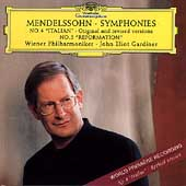 Mendelssohn: Symphony no 4 & 5 / Gardiner, Vienna PO