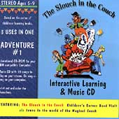 Slouch in the Couch Childrens Corner Band: Interactive Learning & Music CD: Adventure #1