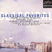 Classical Favorites - Mozart, Pachelbel, et al / Marriner