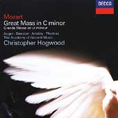Mozart: Great Mass in C minor / Christopher Hogwood, et al