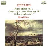 Sibelius: Piano Music Vol 1 / Håvard Gimse