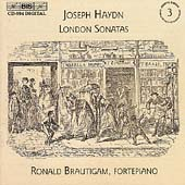 Haydn: Keyboard Sonatas Vol 3 - London / Ronald Brautigam