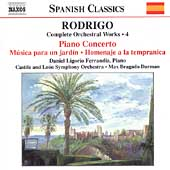 Spanish Classics - Rodrigo: Complete Orchestral Works Vol 4