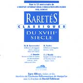 Raret&eacute;s Classiques du XVIIIe Siecle / Oliver, Feldman