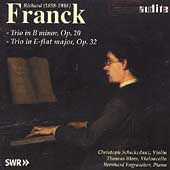 Richard Franck: Piano Trios / Schickedanz, Blees, Fograscher