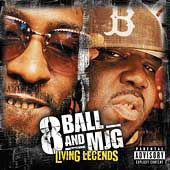 8Ball/MJG/Eightball & MJG: Living Legends: Chopped And Screwed [PA]