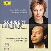 Schubert: Lieder with Orchestra [Hybrid SACD]