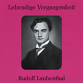 Lebendige Vergangenheit - Rudolf Laubenthal