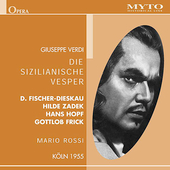 Historical - Verdi: Die sizilianische Vesper / Rossi, et al