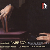 Cabezon: Musical Works Vol 4 / Astronio, La Moranda