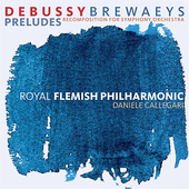 Debussy: Pr&#233;ludes / Callegari, Royal Flemish PO