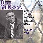 Dave McKenna: Live at Maybeck Recital Hall, Vol. 2