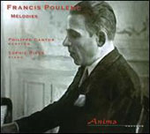 Francis Poulenc: Melodies (songs) / Philippe Cantor, baritone; Sophie Rives, piano