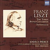 Liszt: Three Piano Concertos / Pierce, Freeman, et al