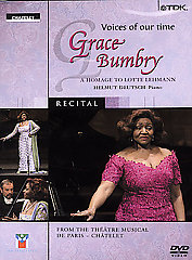 Various / Voices Of Our Time: Grace Bumbry [DVD]
