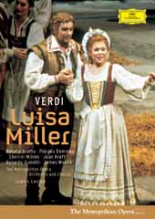 Verdi: Luisa Miller / Scotto, Domingo, Levine/MET [DVD]