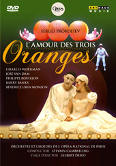 Prokofiev: Love For Three Oranges / Cambreling, Workman, van Dam [DVD]